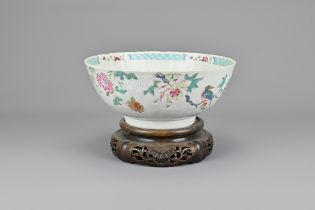 18th Century Chinese Porcelain Famille Rose Bowl