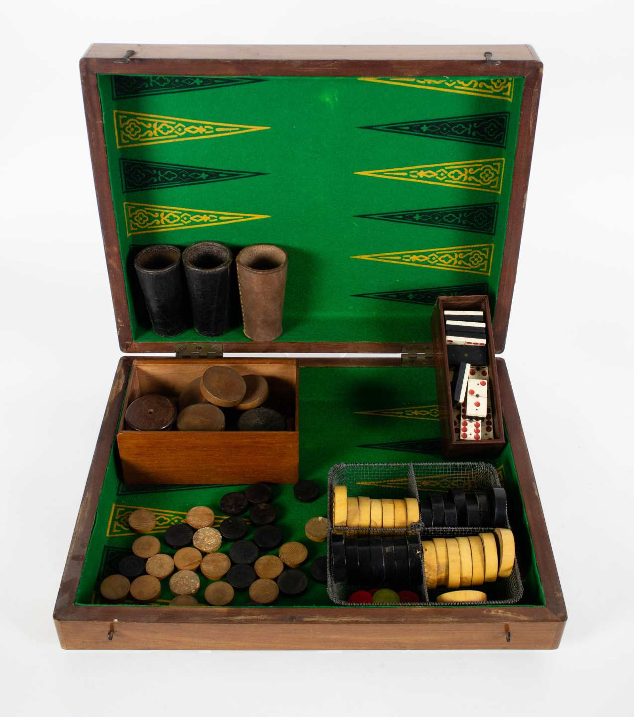A lot with a backgammon game + wall console - Image 3 of 3