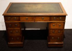 English wooden desk