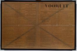 First copy of the newspaper 'De Vooruit'