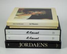 Lot Art books a.o R. Raveel and Jef Wauters