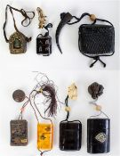 Japanese inro's for holding small objects and relic