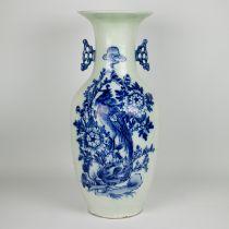 A Chinese celadon vase Republic