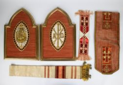 A collection of Christain objects