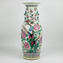 A Chinese vase 2nd half 19th century