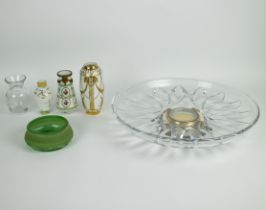 A collection of glassware and porcelain