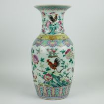 A Chinese vase famille rose 19th century
