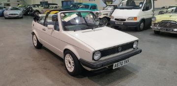 1984 Volkswagen Golf GTI Convertible