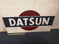 Datsun Wooden Sign