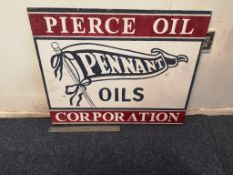 Pennant Oils Wooden Sign