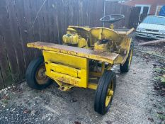 2 Wheel Drive Dumper with Manual Tip