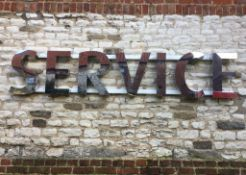 Commercial 'SERVICE' Sign