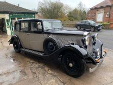 1935 Sunbeam 25 HP Limousine