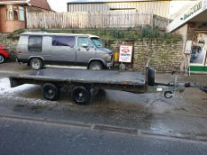 12ft Ifor Williams Flatbed