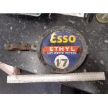 Double sided esso sign