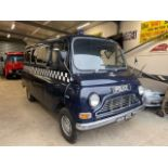 1973 Austin Morris JU250 Black Maria Police Van