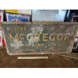 Robert McGregor and Sons Ltd sign
