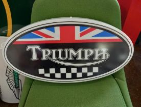 Triumph Light Up Sign