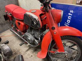 1961 Honda Twin 125