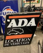 ADA Vehicle Hire Illuminated Sign