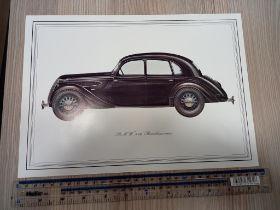 12 x Prints of Famous BMW Models