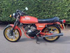 1981 Moto Morini 250 2C V Twin