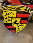 Large Porsche Illuminated Sign