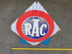 Original RAC Enamel Sign