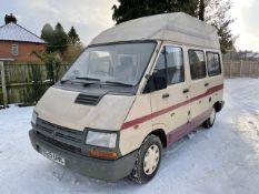 1990 Renault Trafic Campervan