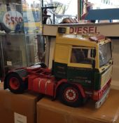 MODEL OF VOLVO F12 ARTICULATED TRUCK