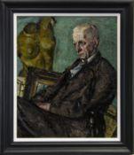 PORTRAIT OF TERRICK WILLIAMS, AN OIL BY ALFRED AARON WOLMARK