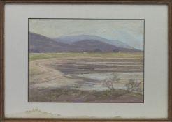 ARGDOUR, ARGYLLSHIRE, A PASTEL BY MARY YATES