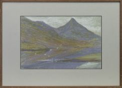 LOCH LEVEN, A PASTEL BY MARY YATES