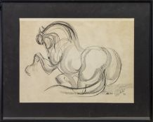 HORSE SKETCH, FROM THE CIRCLE OF SUNIL DAS