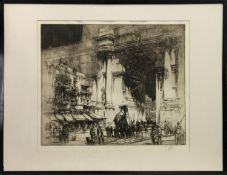 ENTRY OF THE CONSUL, AN ETCHING BY WILLIAM WALCOT