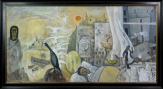 EULOGY, A LARGE OIL BY IAN FLEMING