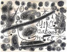 CARTONES 1959-1965, A LITHOGRAPH BY JOAN MIRO