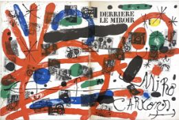 DERRIERE LE MIROIR, WITH LITHOGRAPHS BY JOAN MIRO