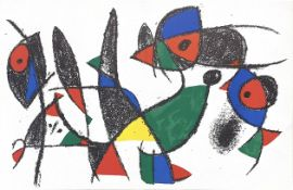 FOUR LITHOGRAPHS BY JOAN MIRO