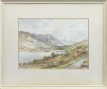 LOCH DOINE AND STOB CHON, A WATERCOLOUR BY WATSON WOOD