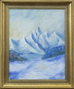 THE MOUNT, AN OIL BY R V SPORKEL