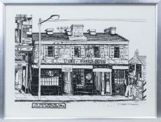 CURLERS REST, A PRINT BY SARAH SWAIN