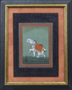 AN INDIAN SCHOOL PAINTING OF AN ELEPHANT