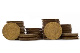 A COLLECTION OF GEORGE III SPADE GUINEA GAMING TOKENS