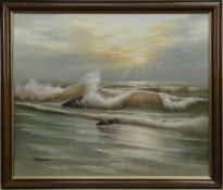 CRASHING WAVES, A SCOTTISH OIL