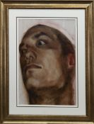 HEAD STUDY I, AN OIL BY STEVEN ANDERSON