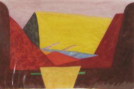 ARIZONA, A WATERCOLOUR BY DAVID JOHNSTON