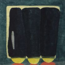 THREE SHAKES, A WATERCOLOUR BY DAVID JOHNSTON