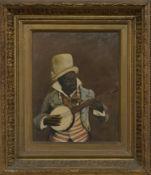 FOUR 19TH CENTURY PORTRAITS OF MUSICIANS