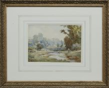 PAIR OF WATERCOLOURS BY ELIOT H MARTEN